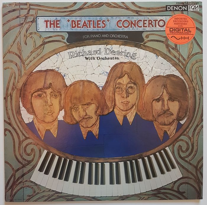 "Richard Deering* ‎– The ""Beatles"" Concerto For Piano And Orchestra LP"