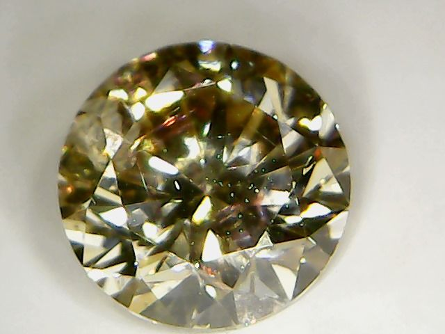 0.53 ct diamond, brilliant cut, fancy brown colour, clarity VS2