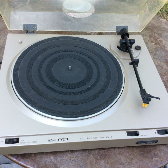 Turntable SCOTT PS 18