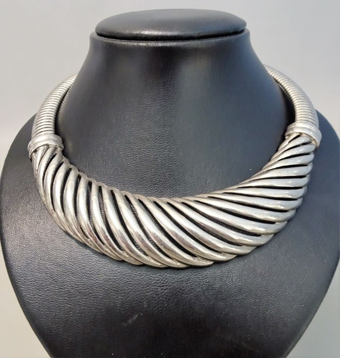 Signed GIVENCHY - XXL Necklace - 1970/80s