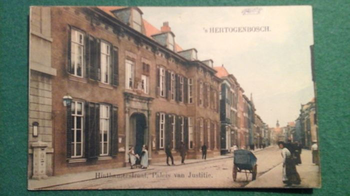 Dutch postcards, views of villages and towns, 1900 - 1950
