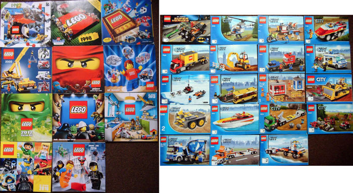 Assortment X11 Old Catalogs Poland Germany X19 Lego City