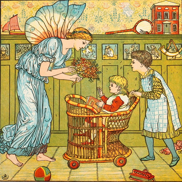 Walter Crane - The Baby's Bouquet - 1878