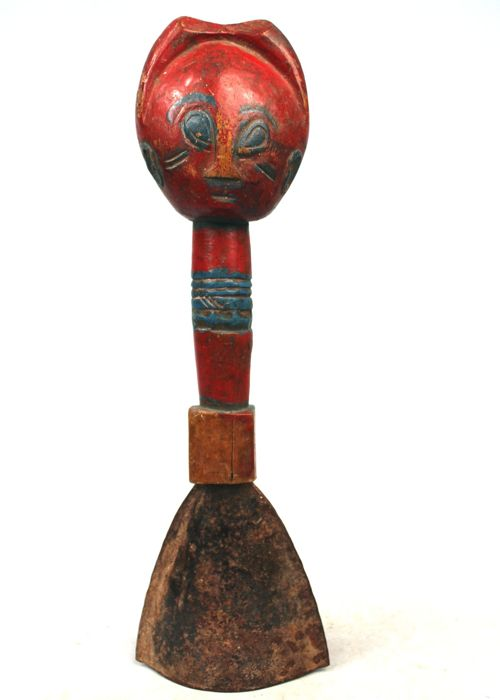 Authentic Ritual Gong - BAULE - Ivory Coast