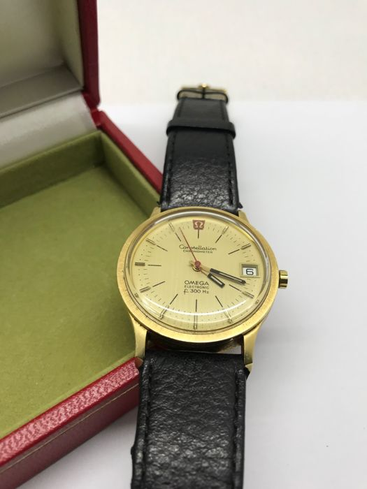 Omega - Constellation Electronic F300 hz - 198003 - Heren - 1970-1979
