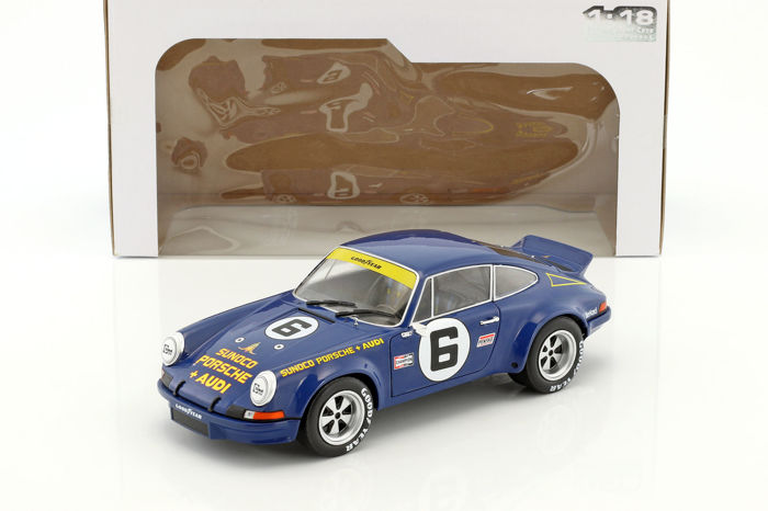 Solido - 1:18 - Porsche 911 RSR 24H of Daytona 1973