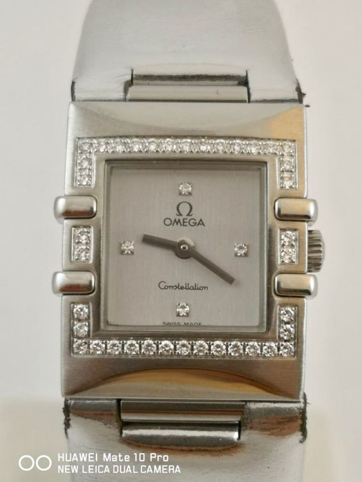 Omega - Constellation Quadra Bezel Diamond - Senhora - 2000-2010