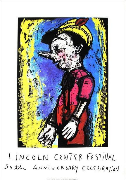 Jim Dine - Lincoln Center Festival (Pinocchio) - 2008