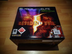"Xbox 360 Elite ""Resident Evil Edition"" Extremely Rare Red Version and Brand new, Factory Sealed"