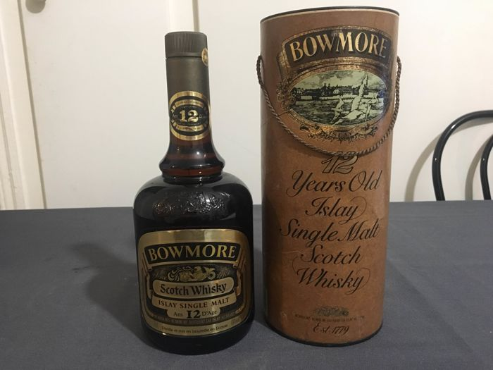 Bowmore 12 years old - bottled 1980s - OB