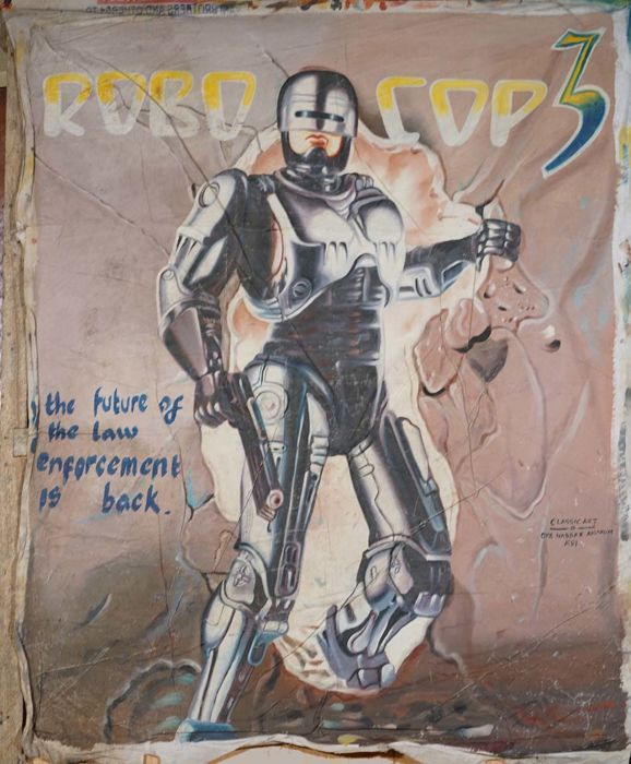 Classic Art, Opp. Nasser Amakum - Robo Cop 3, the future of law enforcement is back