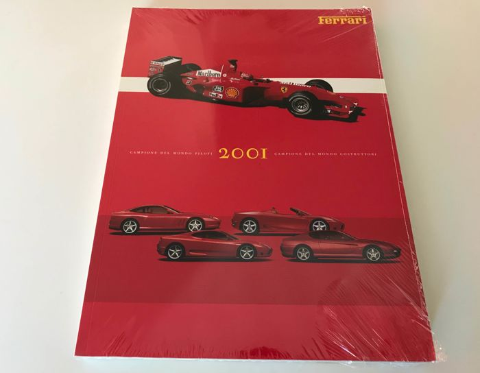 Ferrari official yearbook 2001