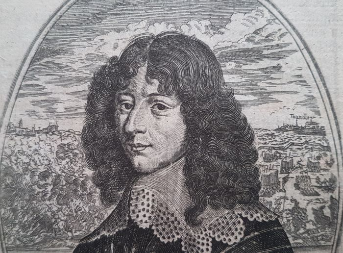 After Balthasar Moncornet (c. 1600 – 1668) - Louis II de Bourbon-Condé