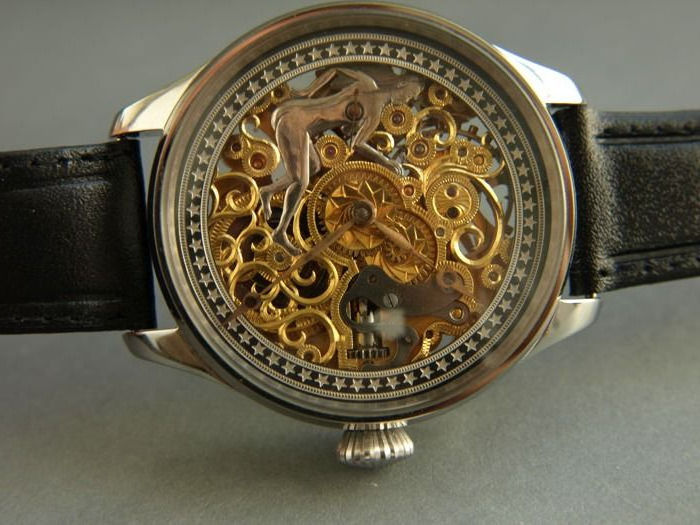 Omega - skeleton marriage watch - 9077915 - Heren - 1901-1949