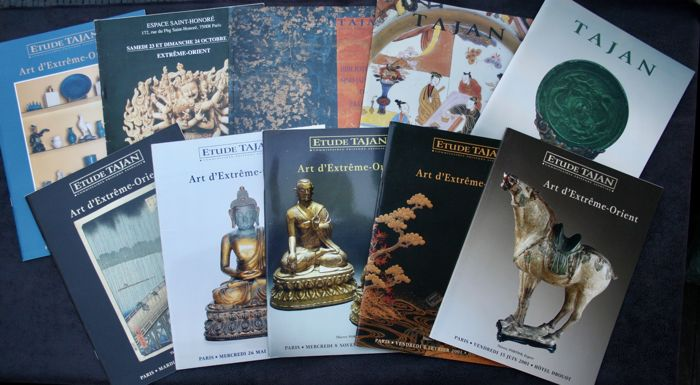 12 Drouot & Divers Sales Catalogues of Far East Art - OE - French -