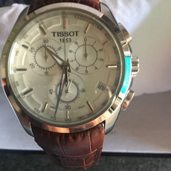Tissot - Couturier chronograph - Heren - 2011-heden