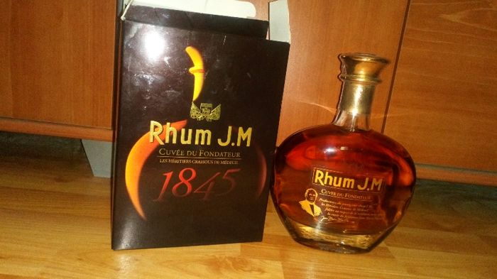 Rhum JM old rum Cuvée of the Founder 70cl