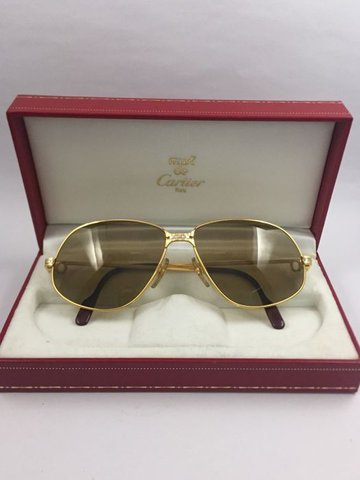 9858e00cfdf5e Cartier - Panthere Windsor Sunglasses - Vintage - Catawiki