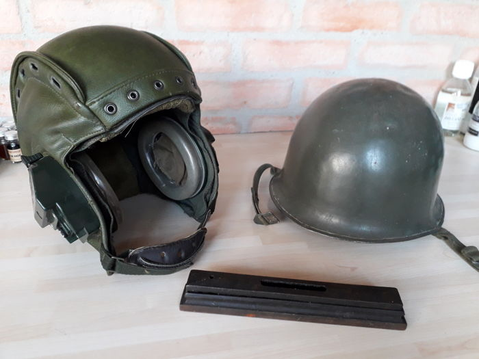 Soft helmet of tank driver - military boat level - Soldier helmet