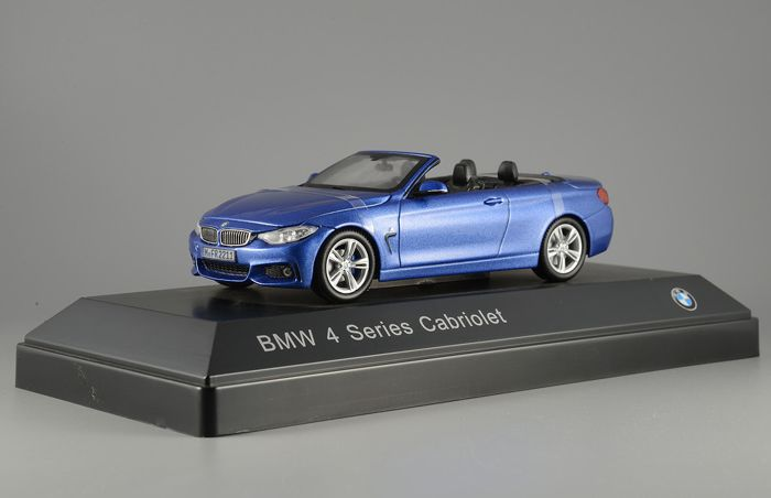 Paragon - 1:43 - BMW 4 Series Cabriolet - Estoril Blue