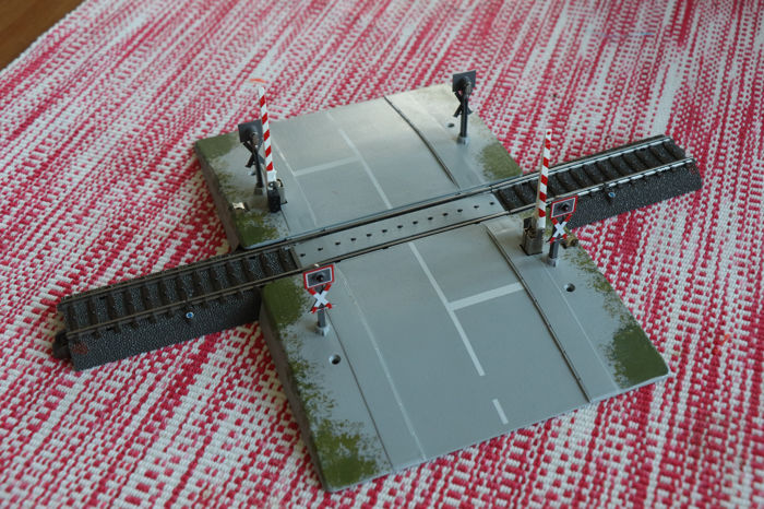 Märklin H0 - 74920 - Attachments - Fully automatic level crossing - DB