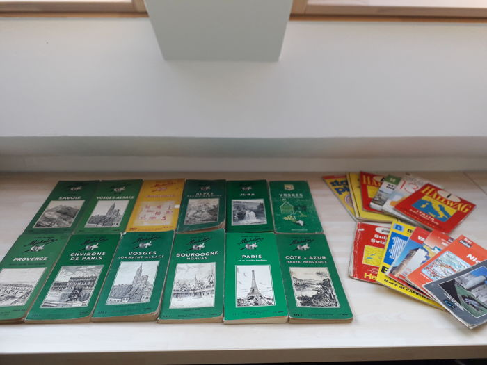 Brochures / Catalogi - Carte Michelin - 1946-1967 (24 items)