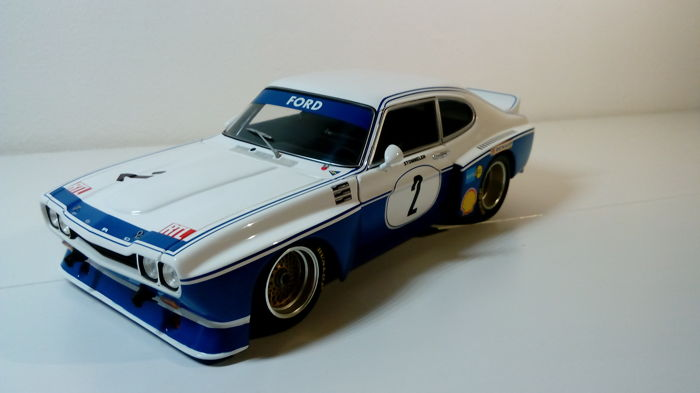 MiniChamps - 1:18 - Ford Capri RS 3100 #2 R. Stommelen - Nurburgring  - DRM 1974