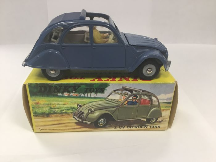 Dinky Toys - 1:43 - #500 Citroën 2 CV 1966  - Made in France