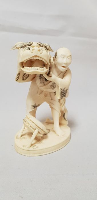 Ivory okimono - Japan - late 19th/early 20th century (Meiji period)