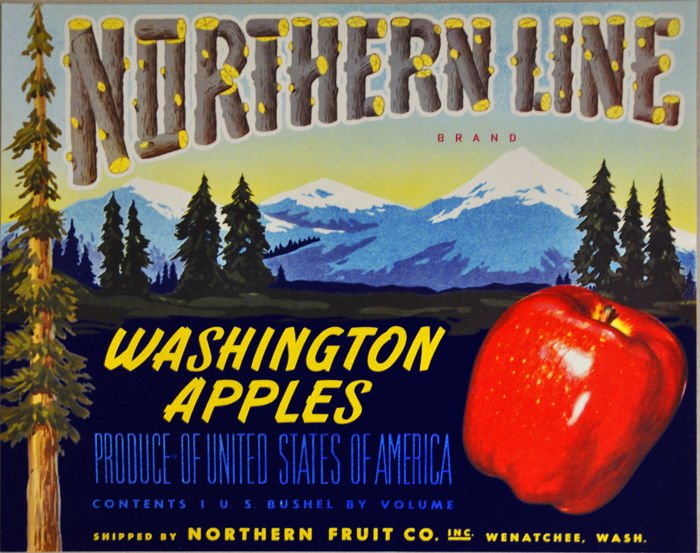 Anonymous - Northern Line Apples - ca 1940