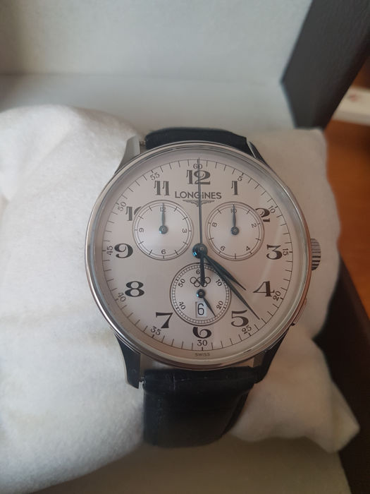 Longines - Olympic Chronograph Steel - 'NO RESERVE PRICE' - L.2.649.4 - Heren - 2008
