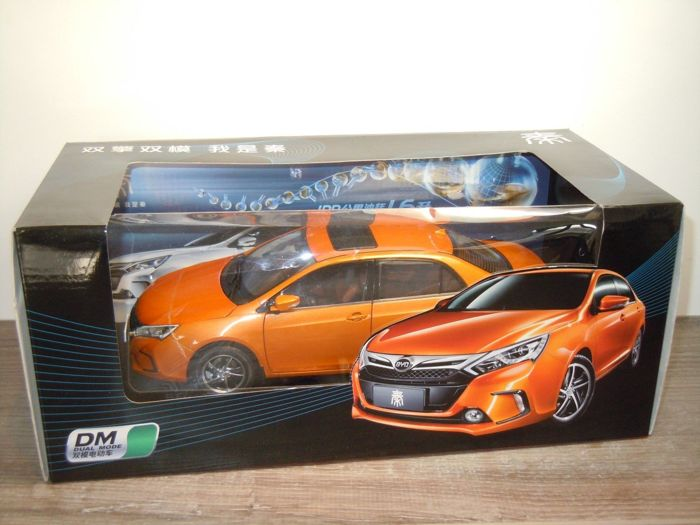 DM Dual Mode - 1:18 - BYD Qin Saloon