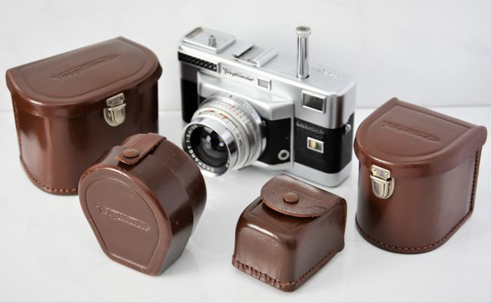 FANTASTIC  SET  VOIGTLANDER  'Vitessa 'T''  THREE Interchangeable Lens 35mm Camera.