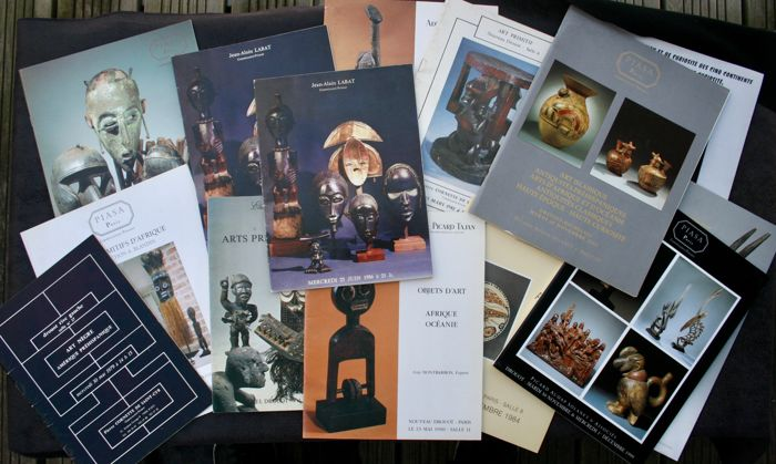 13 Drouot & Divers Sales Catalogues - OE - French -