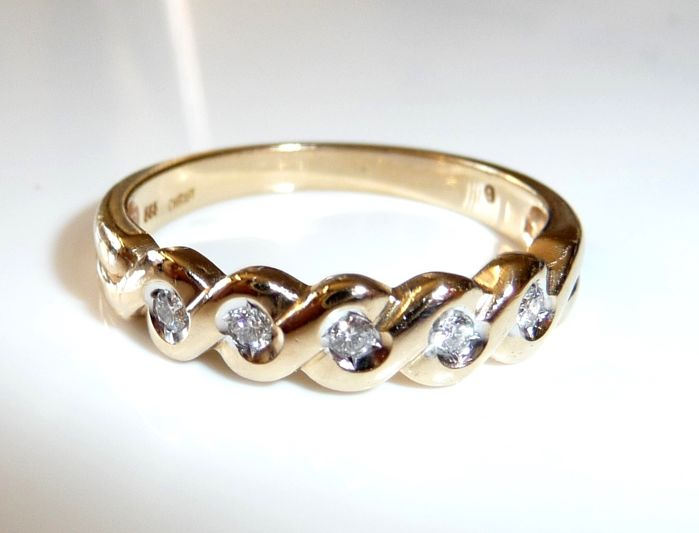 Christ - Ring Semi-Memory 14 kt.