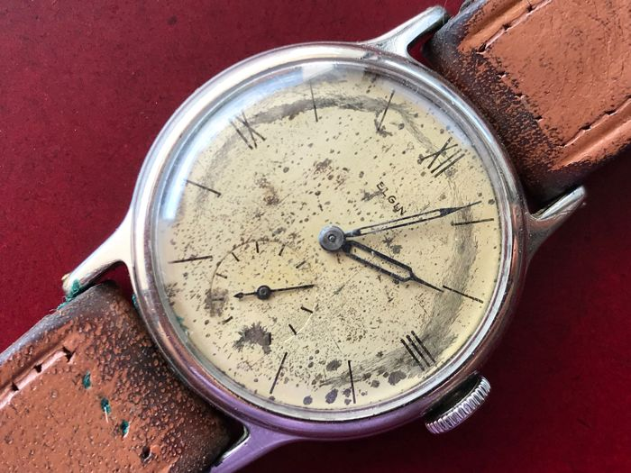 Elgin Watch Company - 580 - 580 - Heren - 1901-1949
