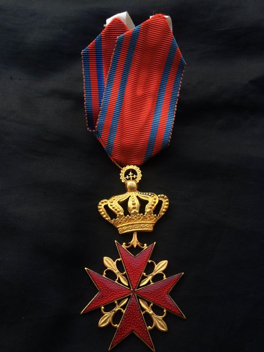 Cyprus : Commander cross of the Order of the Sword and Silence