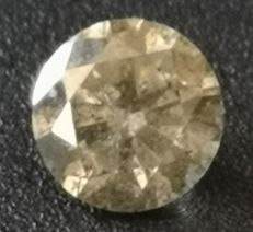 0.80 ct Diamond Fancy Brown SI2  ** no reserv price **