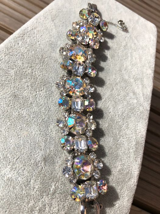 1960's Juliana bracelet by Delizza and Elster