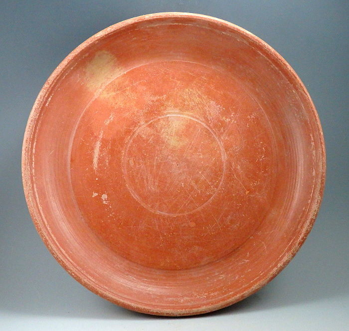 Oud-Romeins Terracotta North African Red Ware Dish - 3.8cm x 24cm