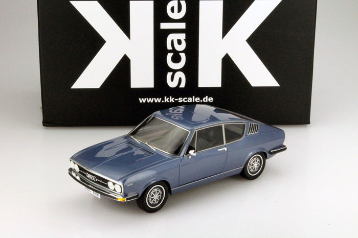 KK Scale - 1:18 - Audi 100 Coupé S 1970 - Limited Edition of 500 pcs.