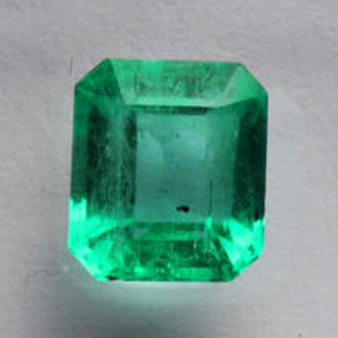 Emerald - 1.24 ct - Good Colour Quality