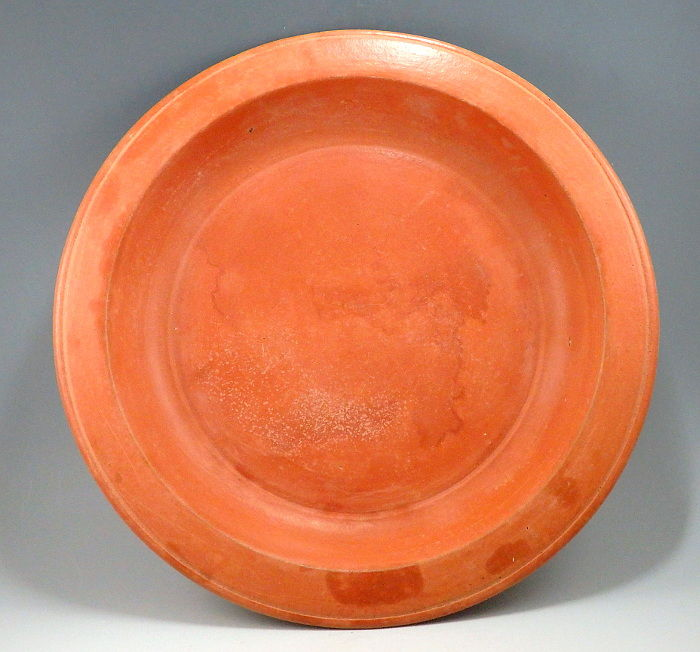 Oud-Romeins Terracotta North African Red Ware Dish - 3.8cm x 24.4cm