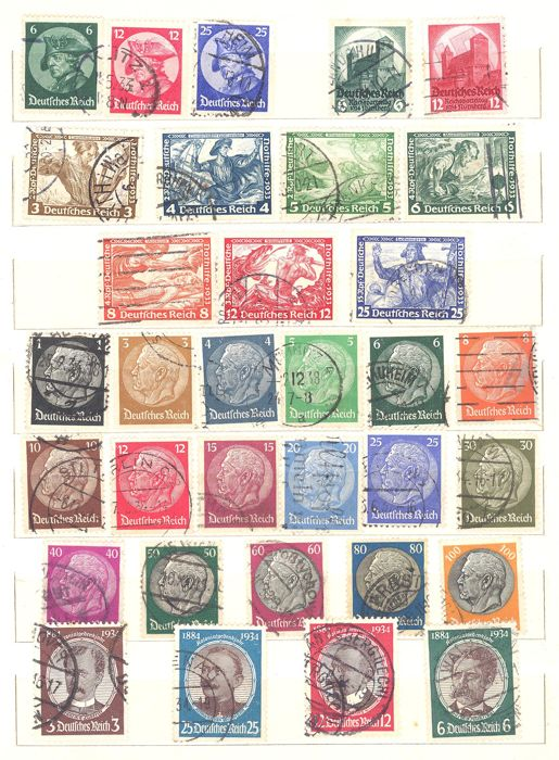 Germania 1933/1971 - Collection of III Reich and Federal Germany