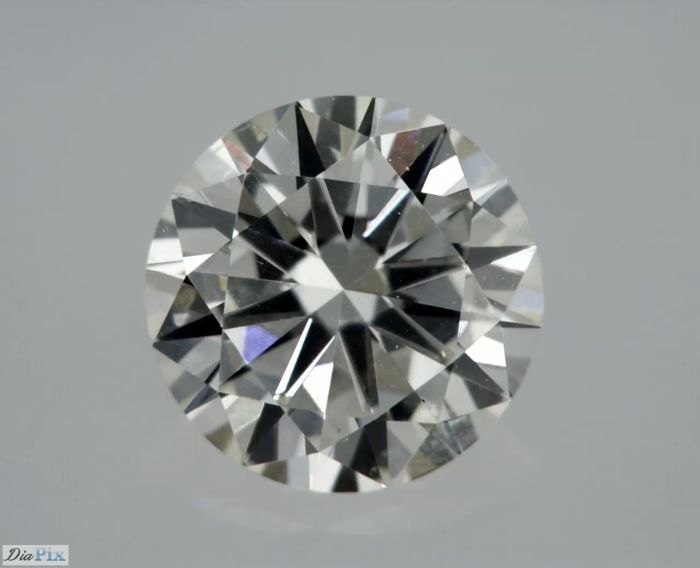 1 Diamant - 0.51 ct - Brillant - I - ** LOW RESERVE **, VS1