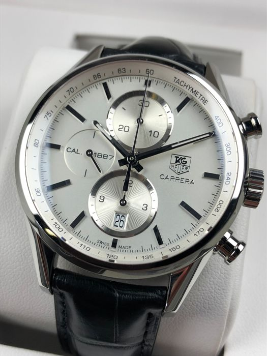 TAG Heuer - Carrera Calibre 1887 Chronograph Automatic - CAR2111 - Heren - 2011-heden