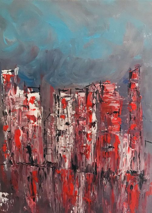 Roxani Rohner - The red city