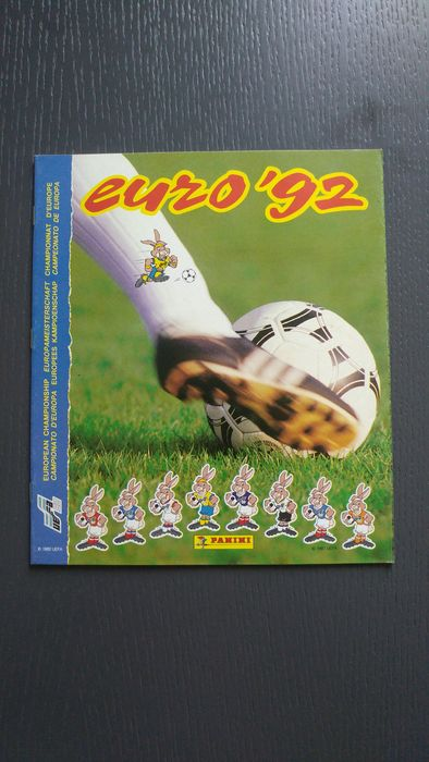 Panini - Euro 92 - Original new empty album