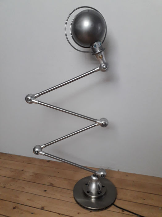 Jean Louis Domecq for Jieldé - Authentic four-armed lamp