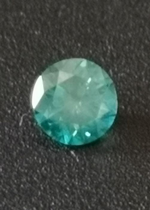 0.52 ct Diamond Greenish Blue SI1 ** no reserve price **